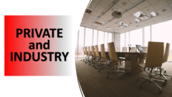 Funding opportunities from Private Entities and Industry